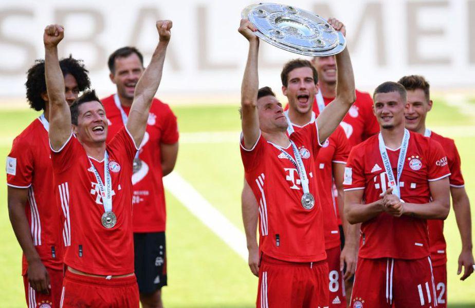 Din nou campion. Thomas Muller, 30 de ani, este ca vinul la Bayern. Tot mai bun cu cât îmbătrâneşte // Sursă foto: Getty