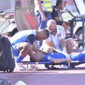 Alexandru Mățan, accidentat în meciul cu Dinamo / FOTO: Cristi Preda