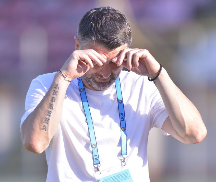 """Adrian Mihalcea (44 de ani), antrenorul """"câinilor"""", nu crede că situația este una dezastruoasă, în ciuda faptului că formația lui e ultima în play-out"""