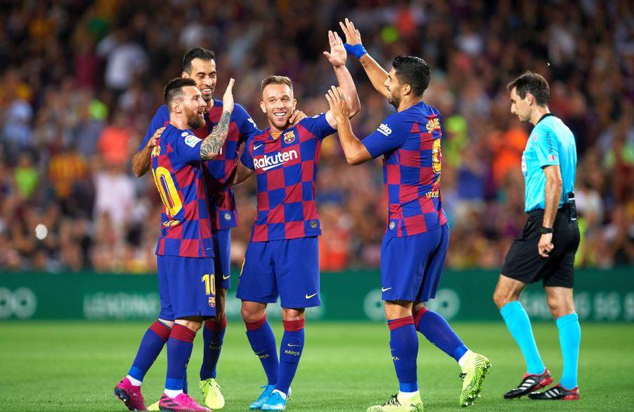 Arthur nu vrea să mai joace pentru Barcelona // FOTO: Guliver/GettyImages