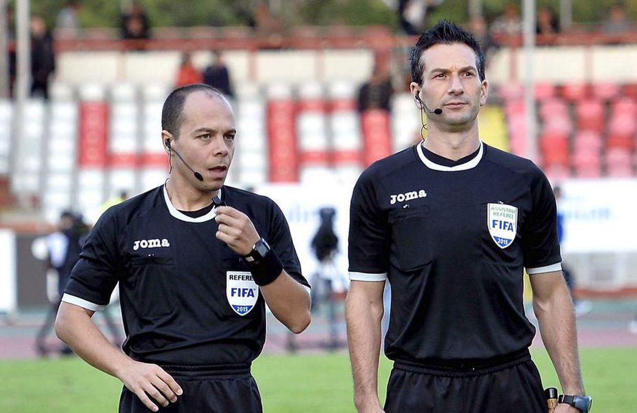 Marius Avram și Mikloş Nagy la un meci jucat pe stadionul Dinamo FOTO sportpictures.eu