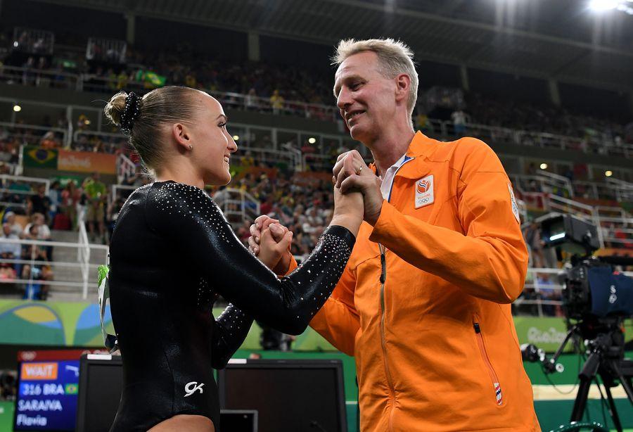 Sanne și Vincent Wevers la Jocurile Olimpice de la Rio FOTO Guliver/GettyImages
