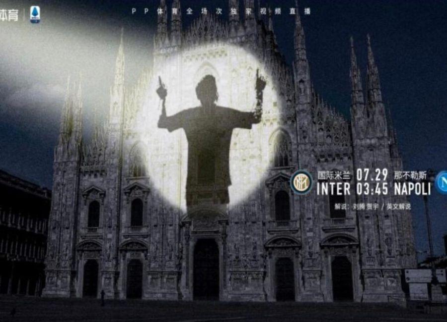 FOTO Leo Messi a apărut pe afișul oficial al meciului dintre Inter și Napoli! Cât de aproape e transferul?