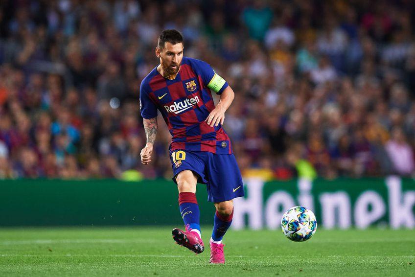 Leo Messi a apărut pe afișul oficial al meciului dintre Inter și Napoli