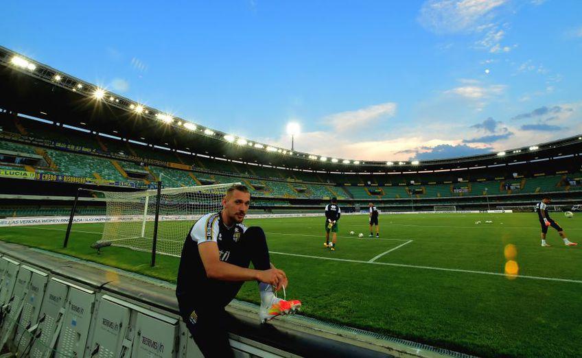 Ionuț Radu (23 de ani) nu a fost inclus în lotul de 19 jucători al Parmei pentru meciul de astăzi, cu Atalanta