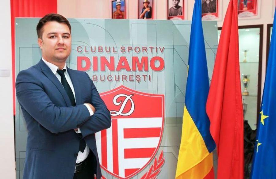 Ionuț Adrian Popa e noul președinte al CS Dinamo