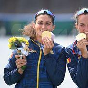 Canotoarele Ancuța Bodnar și Simona Radiș obțin primul titlu olimpic românesc la canotaj, după 13 ani! foto: Raed Krishan/GSP