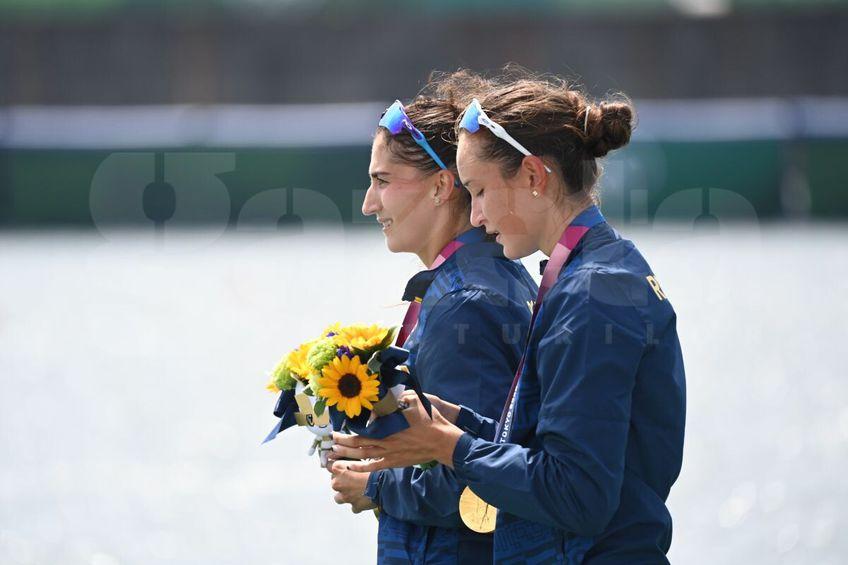 Simona Radiș (22 de ani) și Ancuța Bodnar (22 de ani)au câștigat medalia de aur pentru România // FOTO: Raed Krishan