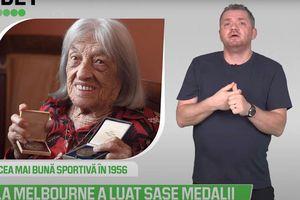 5 minute de sport olimpic - Ágnes Keleti, 100 de ani olimpici