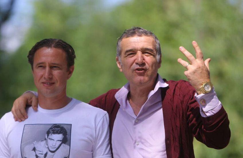 Gigi Becali, patronul FCSB, nu e speriat de numirea lui Laurențiu Reghecampf la CS Universitatea Craiova.