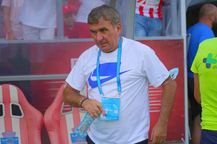 Gică Hagi, 56 de ani, antrenorul Farului, a prefațat meciul cu Rapid din runda #3 a Ligii 1.