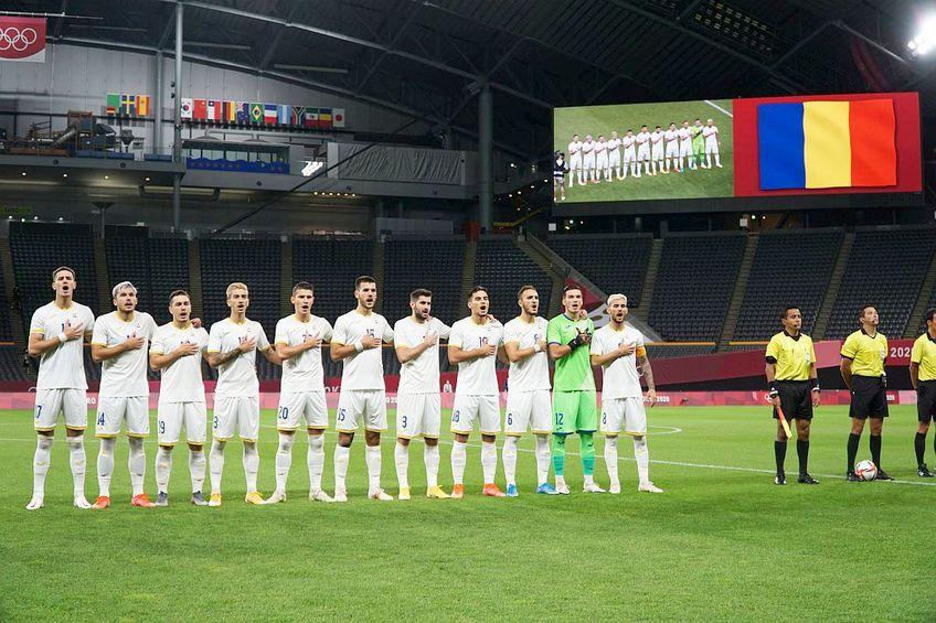 România la meciul cu Noua Zeelandă, scor 0-0 Foto:echipanaționalădefotbalaromâniei/facebook