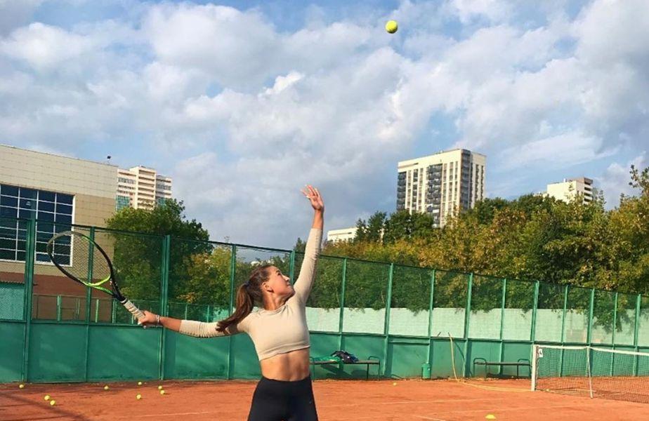Kamilla Rakhimova în acțiune FOTO Kamilla Rakhimova Instagram