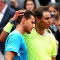 Thiem (în stânga) e considerat unul dintre principalii favoriți la câștigarea Roland Garros. foto: Guliver/Getty Images