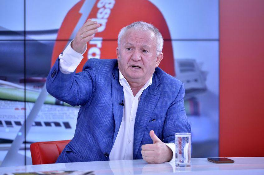 Adrian Porumboiu dezvăluie cum s-a răzbunat Valentin Ceaușescu pe el fiindcă l-a eliminat pe Lăcătuș într-un meci Steaua - FC Olt