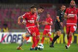Dinamo - UTA » Ocazie uriașă ratată de arădeni în debutul reprizei secunde