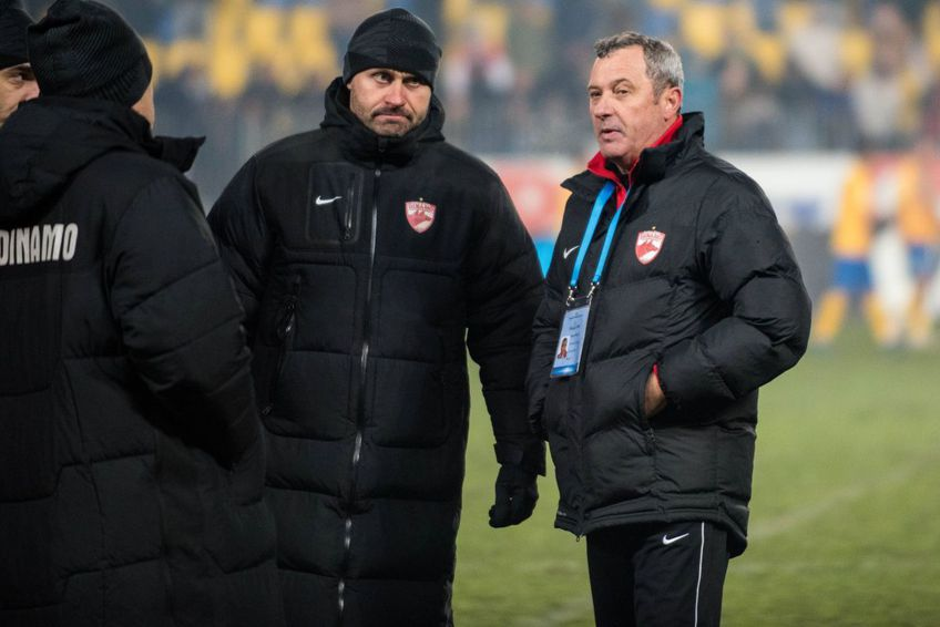 Mircea Rednic, pe vremea când antrena Dinamo Foto: Imago