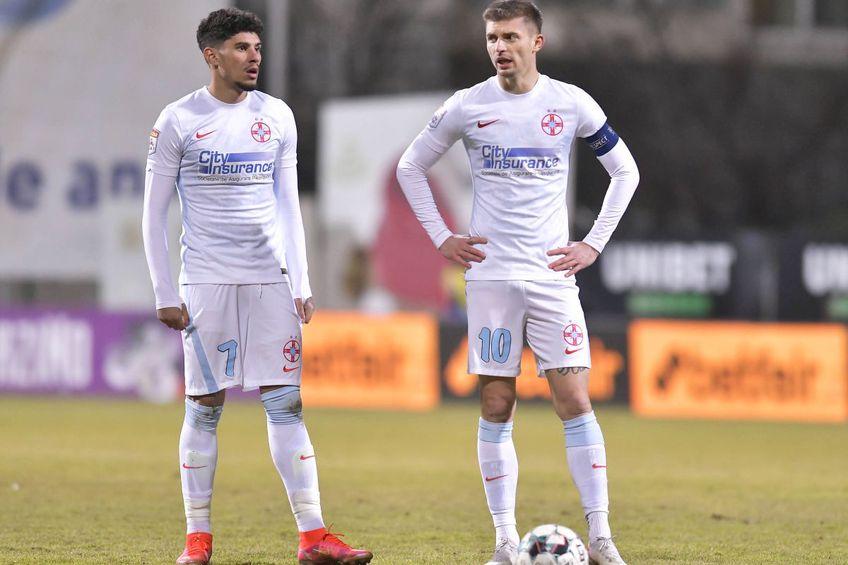 Tănase și Coman erau titulari de bază înainte să sufere accidentările // foto: Răzvan Păsărică / sportpictures.eu