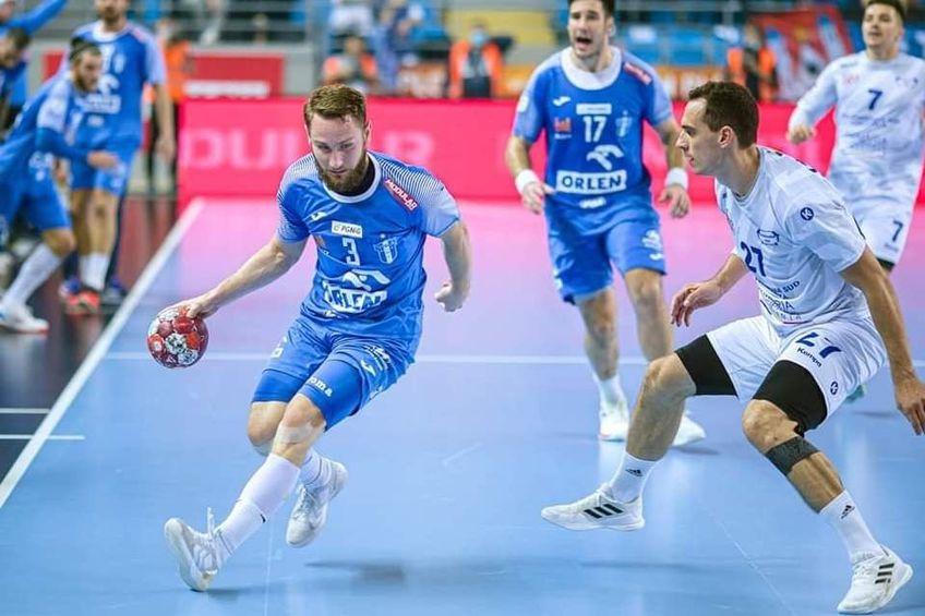 HC Dobrogea Sud a câștigat mașa retur cu Wisla Plock, scor 26-20, dar nu a fost suficient pentru a se califica în grupele EHF European League.