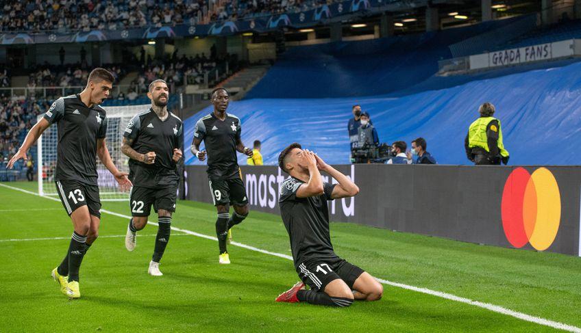 Jasur Jakhshibaev (24 de ani) a marcat cel mai important gol din istoria lui Sheriff Tiraspol, în minutul 25 al deplasării cu Real Madrid, din Liga Campionilor.