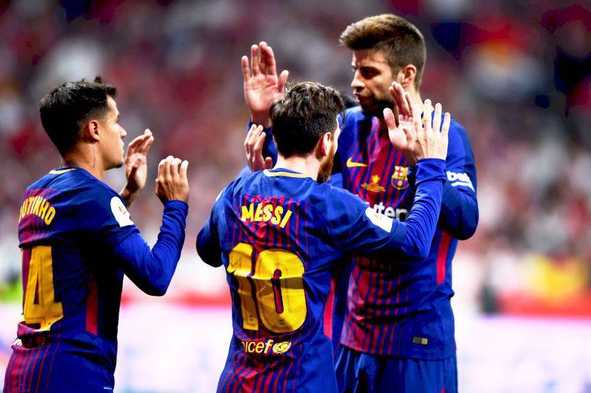 Messi și Pique sunt liderii Barcelonei, foto: Guliver/gettyimages