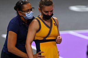 """Simona Halep explică problemele avute în meciul cu Gracheva: """"Mi s-a blocat spatele. Nu știu cum am câștigat"""""""