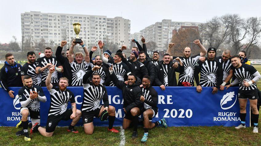 Știința Baia Mare - CSA Steaua București 35-19  sursa foto: Rugby Romania