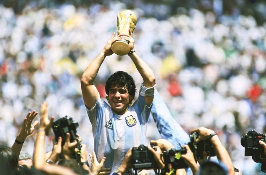 Diego Maradona, la titlul mondial din 1986