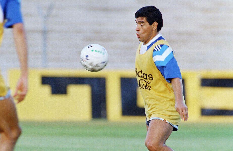 Maradona i-a cerut o avere pe tricoul său lui Berkovic, în 1994