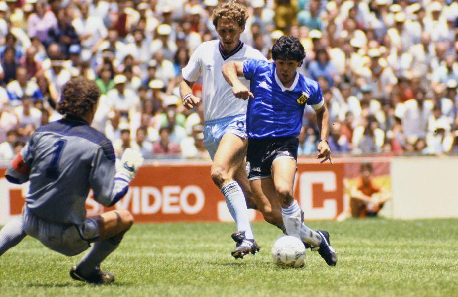 Diego Maradona, în Argentina - Anglia 2-1 // foto: Imago