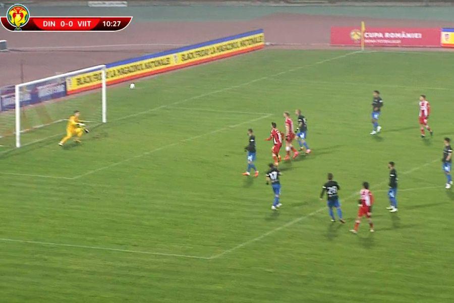 Execuția lui Fabbrini /  Captură TV Telekom Sport