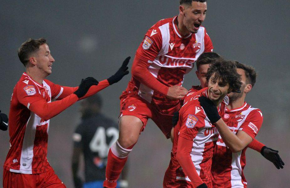 Diego Fabbrini a deschis scorul în Dinamo - Viitorul