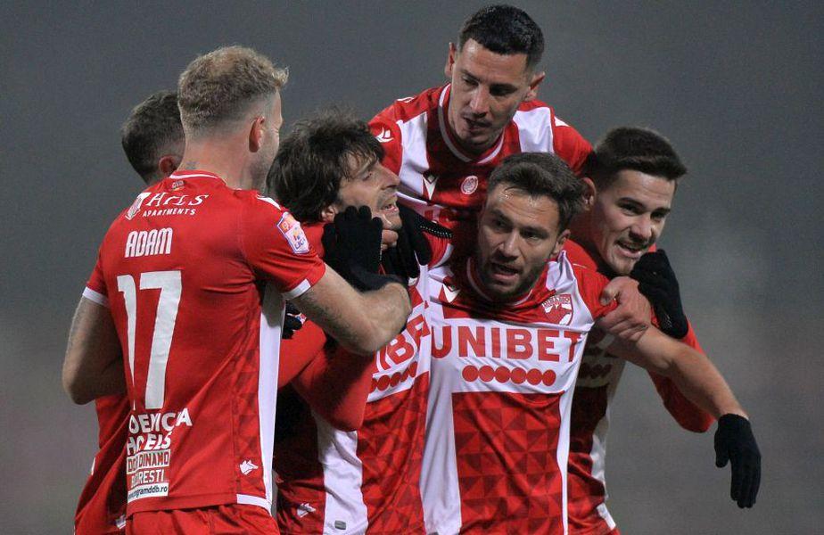 Dinamo a învins-o la scor de neprezentare pe Viitorul, scor 3-0. Sursă foto: Cristi Preda