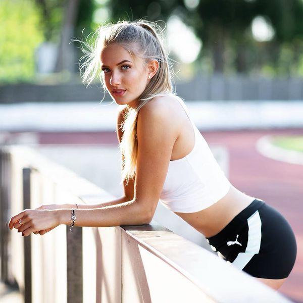 """FOTO Alica Schmidt cucerește Australia! """"Cea mai sexy atletă din lume"""" e din Germania și are fani la Antipozi"""