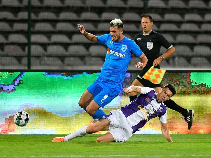 CS Universitatea Craiova și FC Argeș au remizat, scor 1-1, în primul meci al rundei cu numărul 20 din Liga 1.
