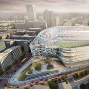 Noul stadion Santiago Bernabeu, foto: AS.com