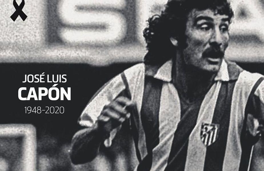 A murit Jose Luis Capon, fostul fotbalist al lui Altetico Madrid // Foto @Facebook
