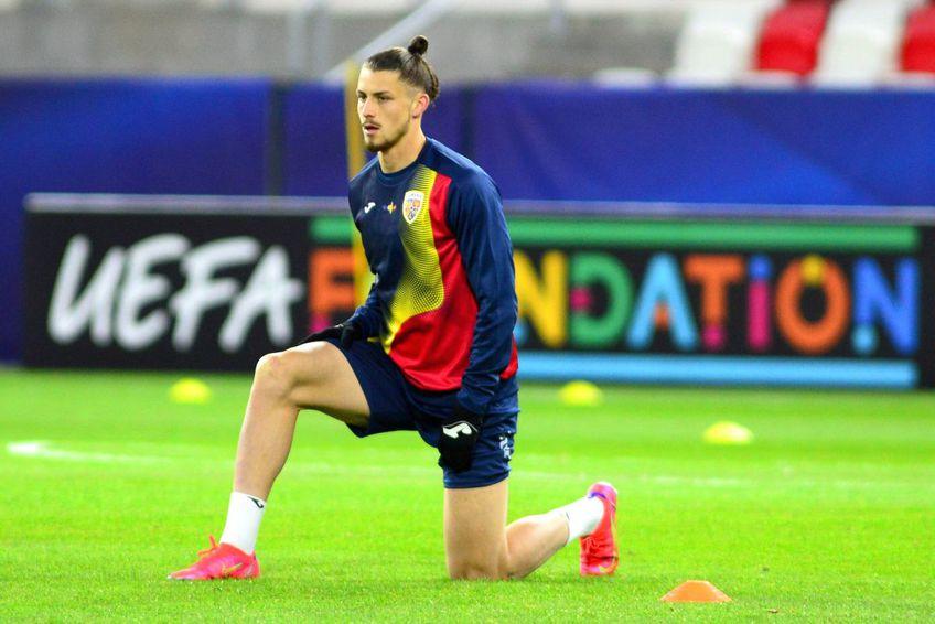 Radu Drăgușin nu a jucat încă la acest Campionat European U21 // foto: Imago