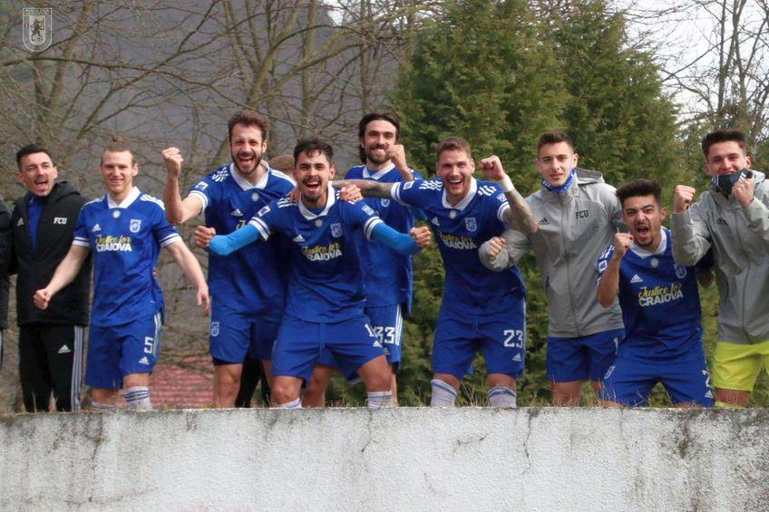 FC U Craiova a terminat pe #1 sezonul regular // foto: Facebook