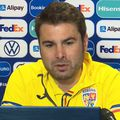 Adrian Mutu, selecționer România U21 // foto: captură FRF TV