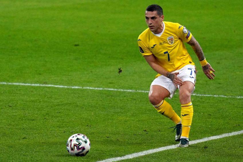 Nicolae Stanciu, în România - Germania 0-1