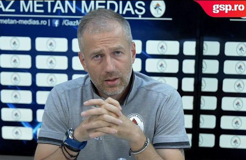 Edward Iordănescu pare hotărât să plece de la Gaz Metan