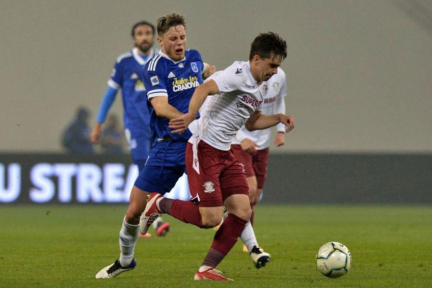 FC U Craiova a câștigat derby-ul Ligii 2, 1-0 cu Rapid