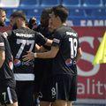 """Andrei Ciobanu a reușit o """"dublă"""" din penalty. Sursă foto: fcviitorul.ro"""