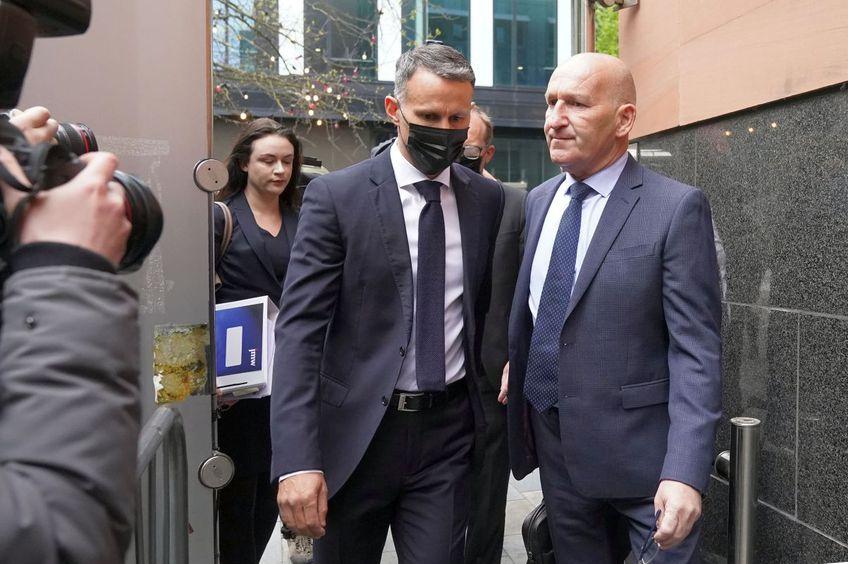 Ryan Giggs a fost prezent la prima înfățișare a procesului // Foto: Getty Images
