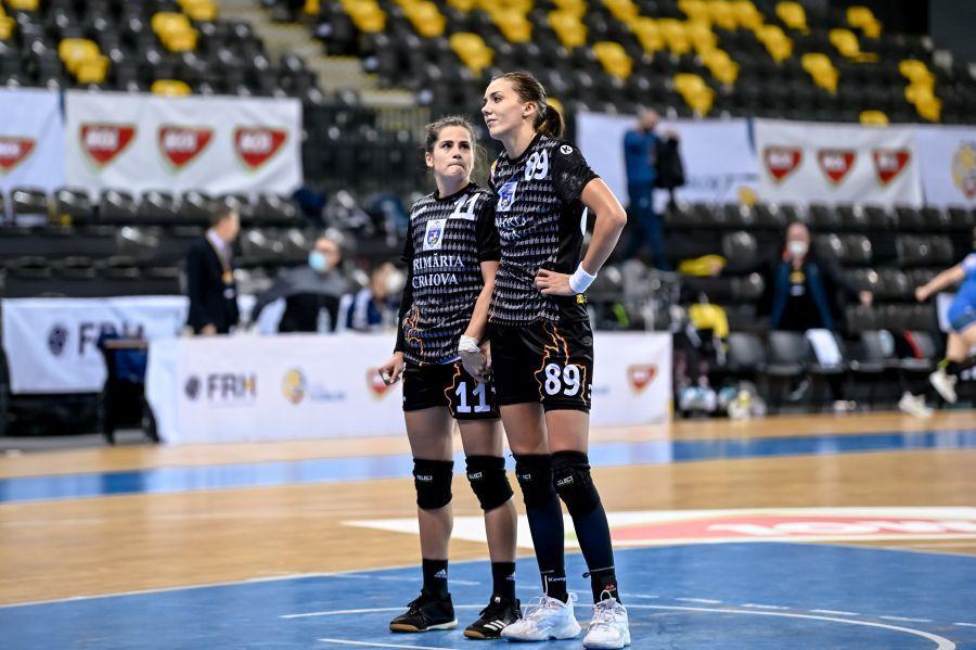 Ana Maria Țicu și Cristina Zamfir, cele mai importante jucătoare ale Craiovei FOTO Dan Potor