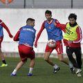 Conducerea lui Dinamo le-a comandat jucătorilor să rămână la Săftica