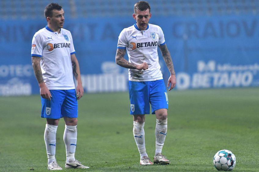 Alexandru Cicâldău (dreapta), alături de Dan Nistor // foto: Imago