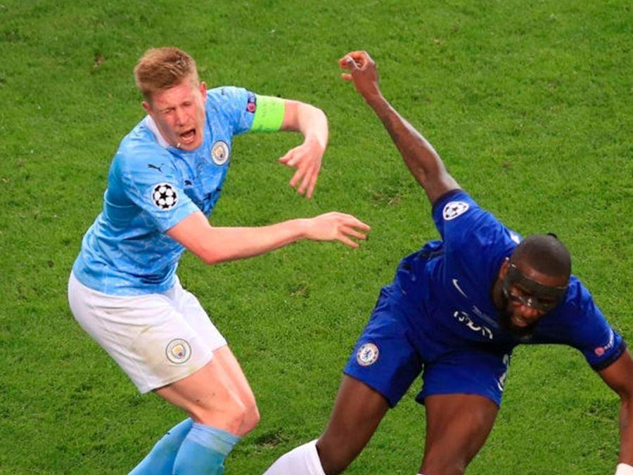 Momente dramatice în City - Chelsea! De Bruyne a ieșit în lacrimi de pe teren