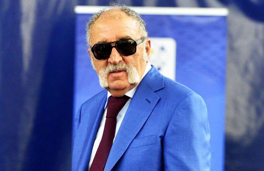 Ion Țiriac este președintele Federației Române de Tenis